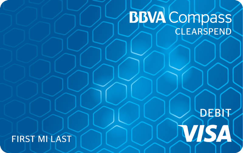 BBVA Compass ClearSpend At-a-Glance