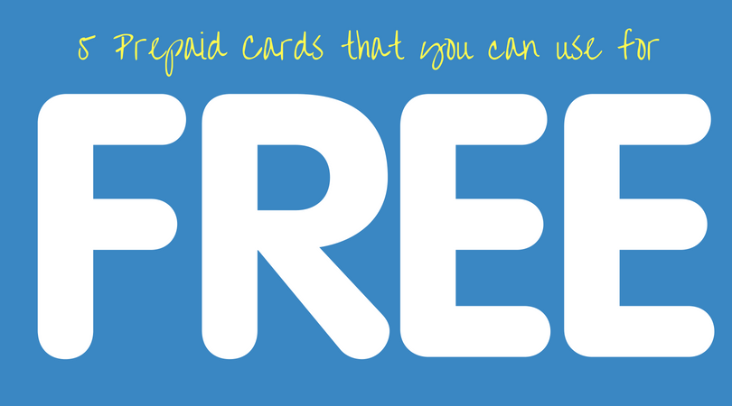 free prepaid cards with no fees