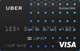 Uber Visa Debit Card