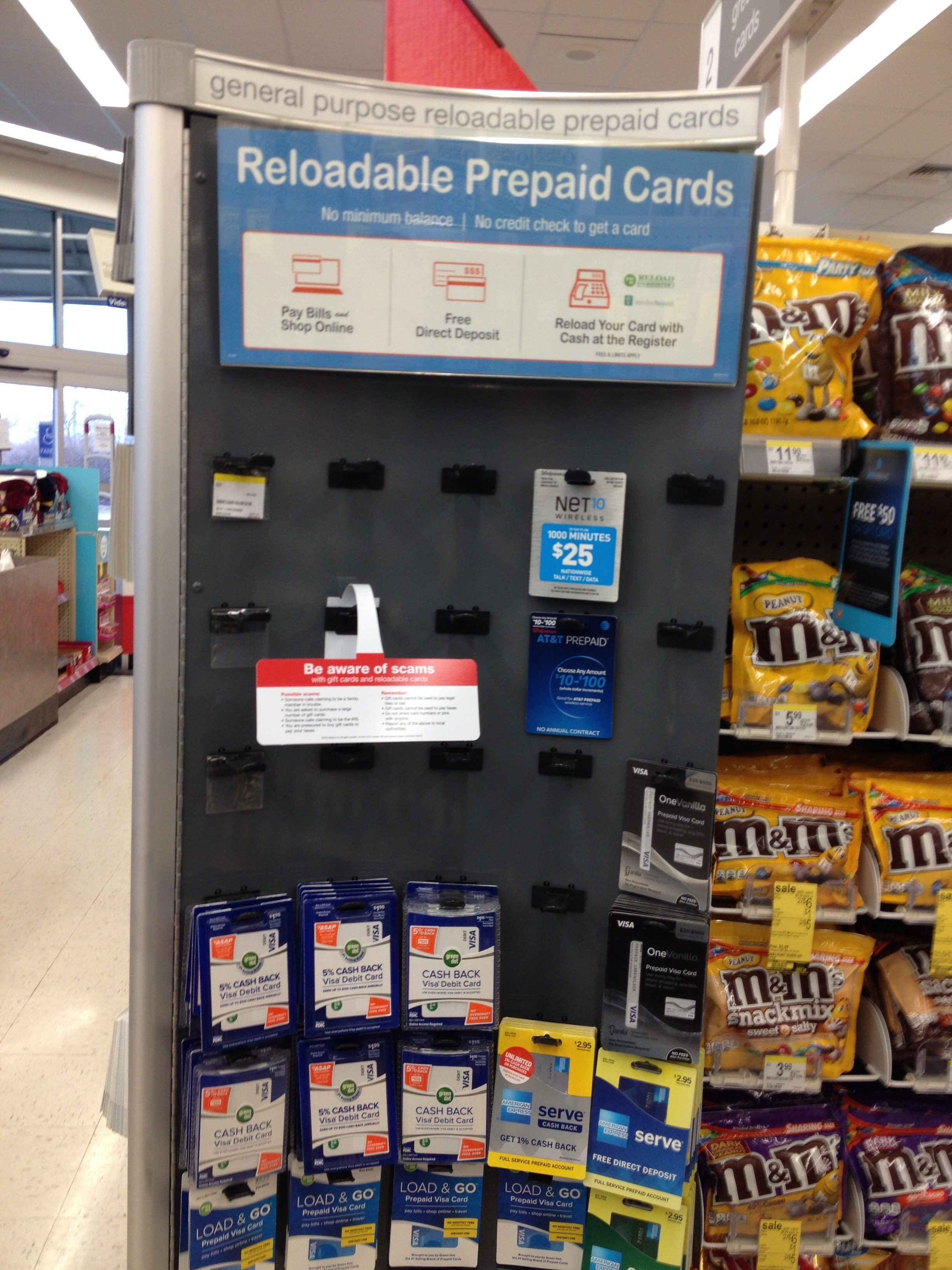 Going to the Store for a Prepaid Card? It's Not So Easy